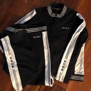 BCBGmaxazria jogging suit